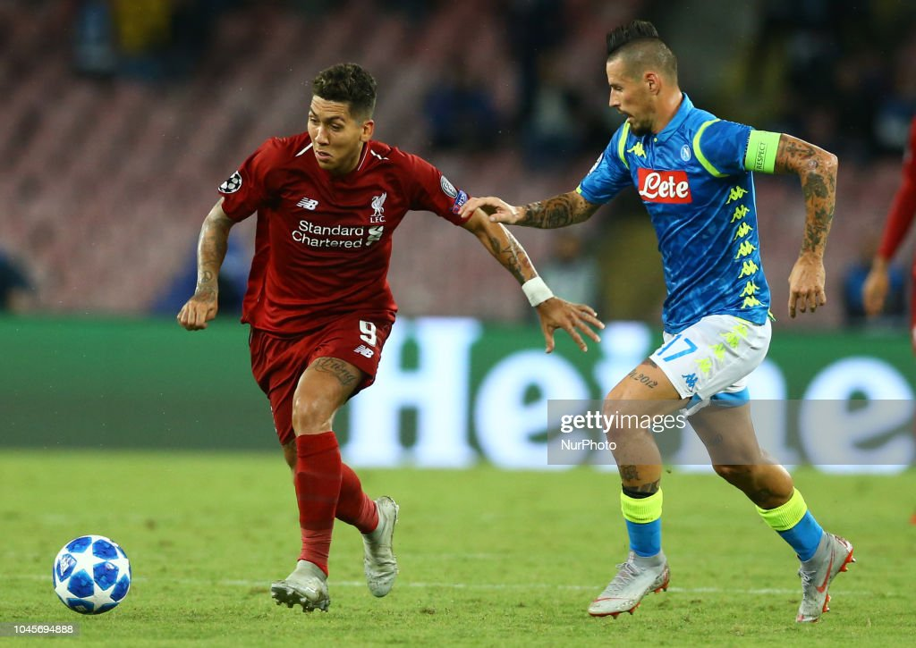 SSC Napoli v FC Liverpool - UEFA Champions League Group C : News Photo