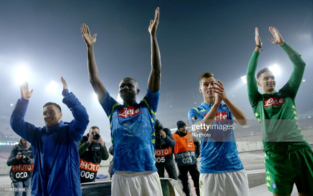 SSC Napoli v FC Zurich - UEFA Europa League Round of 32: Second Leg : News Photo