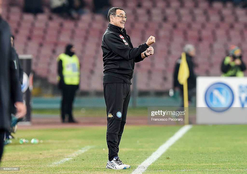 SSC Napoli v US Citta di Palermo - Serie A : News Photo