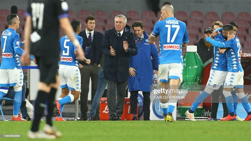 FBL-ITA-SERIEA-NAPOLI-SAMPDORIA : News Photo
