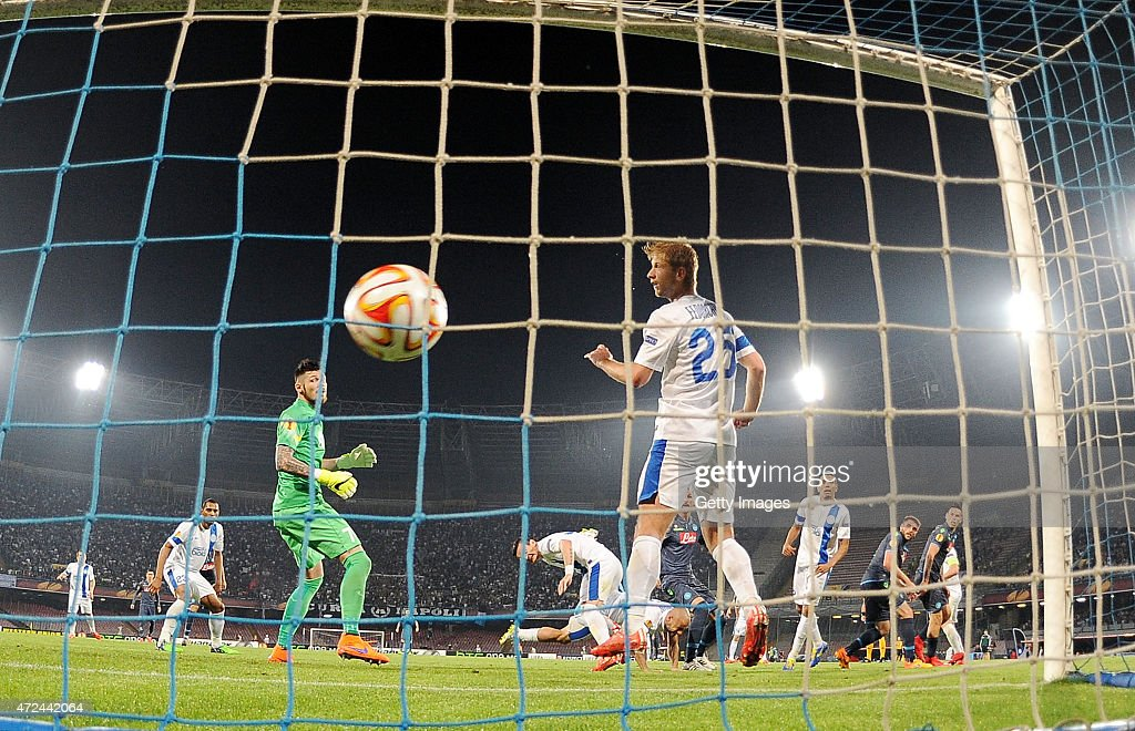 SSC Napoli v FC Dnipro Dnipropetrovsk - UEFA Europa League: Semi Final : News Photo