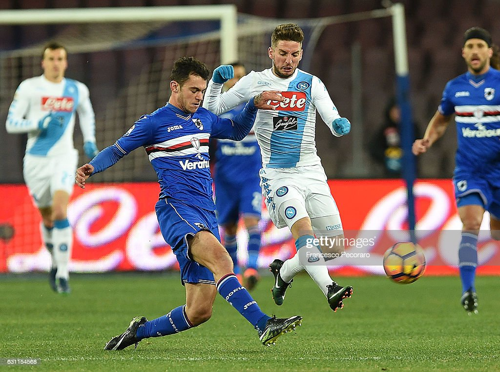 SSC Napoli v UC Sampdoria - Serie A : News Photo
