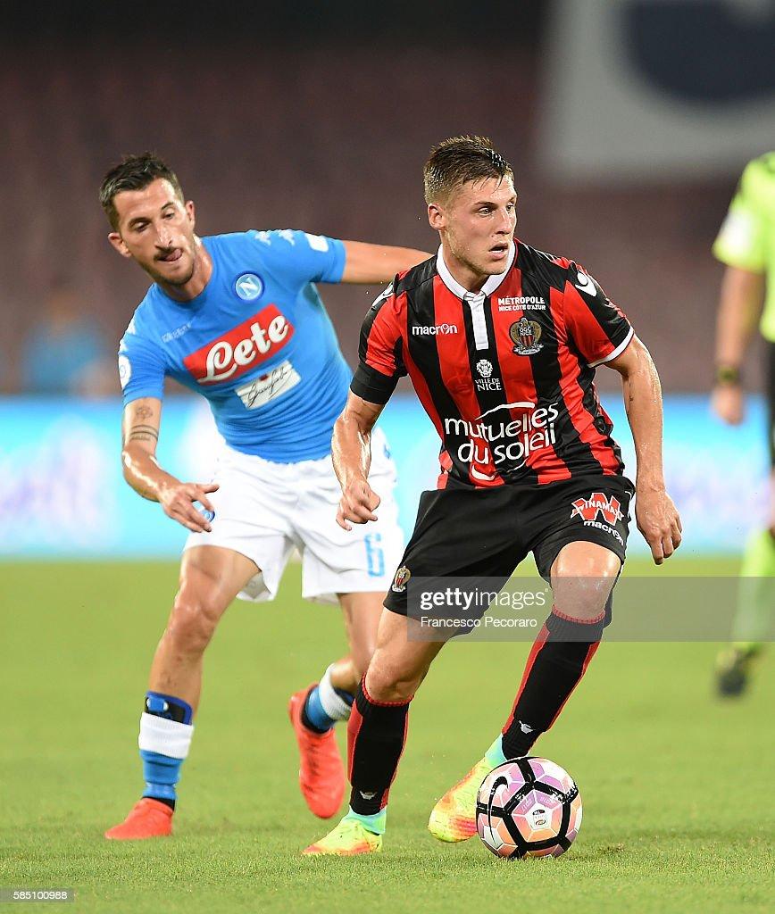 SSC Napoli v OGC Nice : News Photo