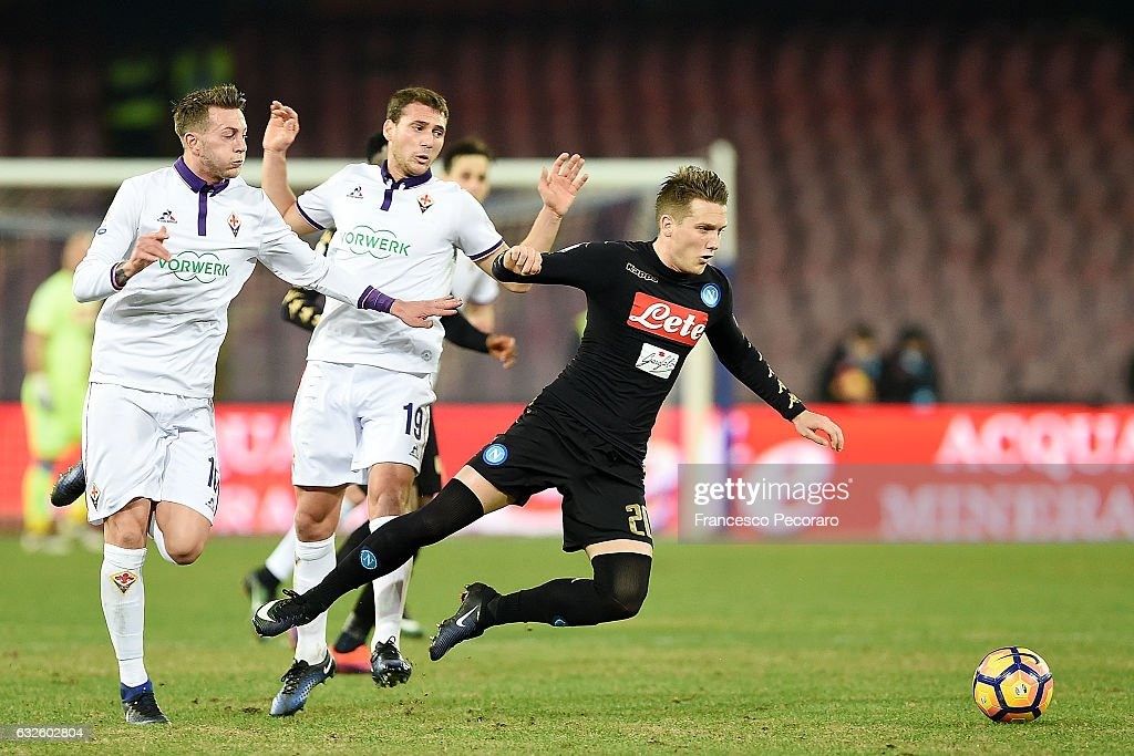 SSC Napoli v ACF Fiorentina- TIM Cup : ニュース写真