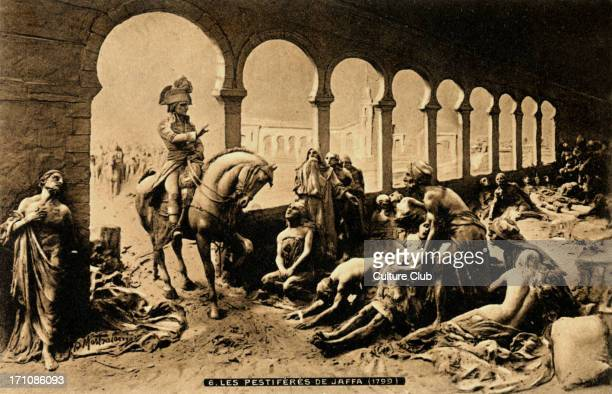 Napoléon Bonaparte visiting the victims of the plague of Jaffa on 11th March 1799
