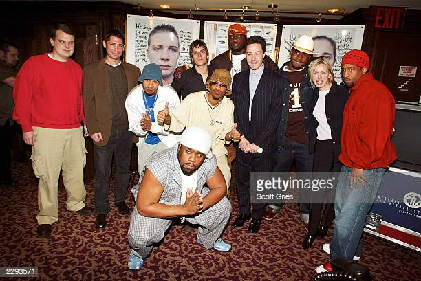 Nappy Roots and Rob Thomas of Matchbox Twenty with high school shooting victim Hollan Holm CoPresident of Atlantic Records Ron Shapiro PAX Cofounder...