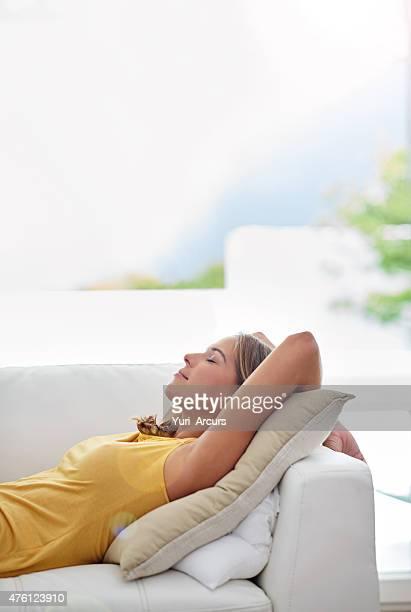 Ein Nickerchen sind das Beste an einem entspannten Wochenende