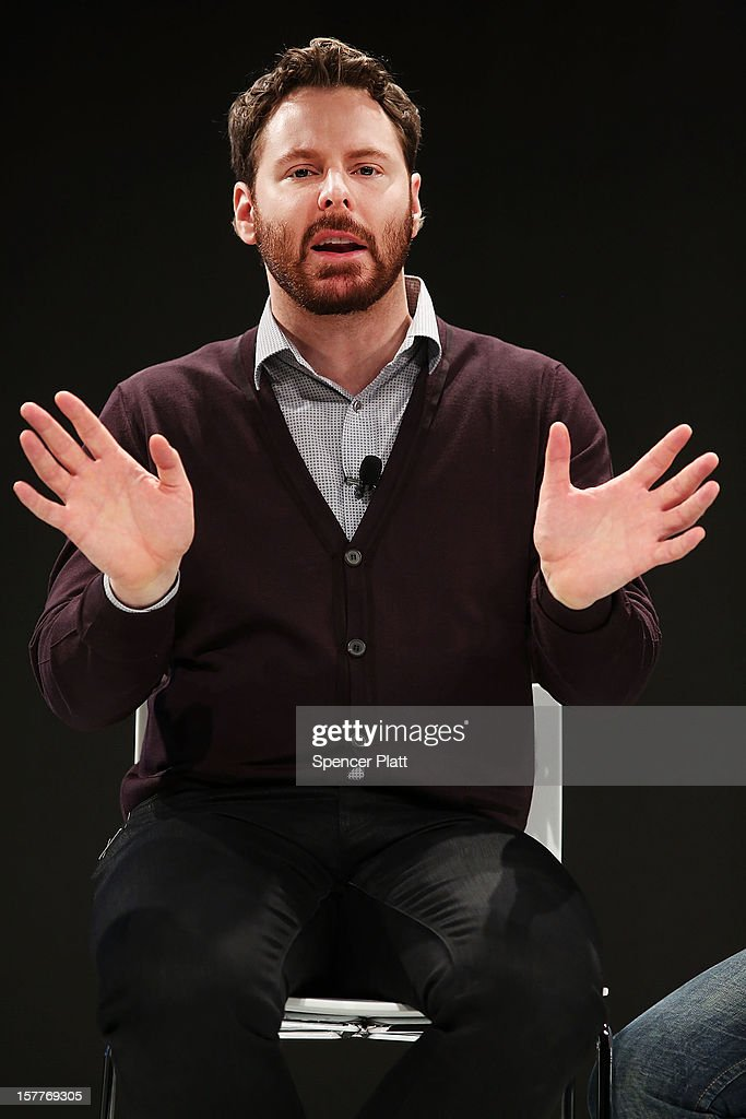 Napster cofounder Sean Parker speaks at a Spotify event on December 6, 2012 in New York City. Metallica recently announced that their music will now be available on the music streaming site. Spotify's founder and CEO Daniel Elk, who started the Swedish music streaming business in 2006, introduced a variety of new additions to the popular music sight. Elk also announced that Spotify now has 5 million paid subscribers, 20 million active users and has paid out a half billion dollars to artist's record labels.