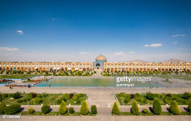 naqsh-e jahan or imam square, isfahan, iran - isfahan stock pictures, royalty-free photos & images