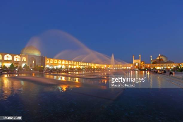 naqsh-e jahan square in esfahan - massimo pizzotti foto e immagini stock
