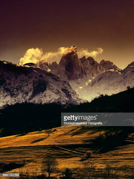 Naranjo de Bulnes (known as Picu Urriellu) in Picos de Europa National Park.