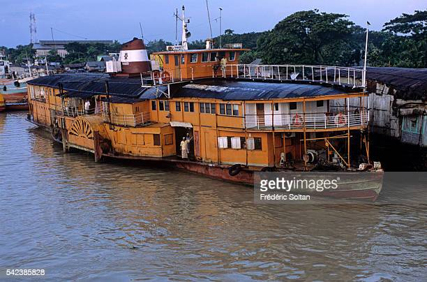 Narayanganj Port is the river port for Dhaka one of the oldest and biggest in Bangladesh Old ferry built in 1915 | Location Narayanganj District...