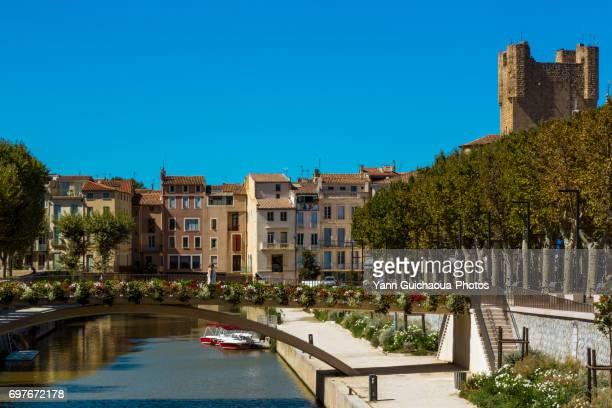 narbonne, aude, occitanie, france - タルブ ストックフォトと画像