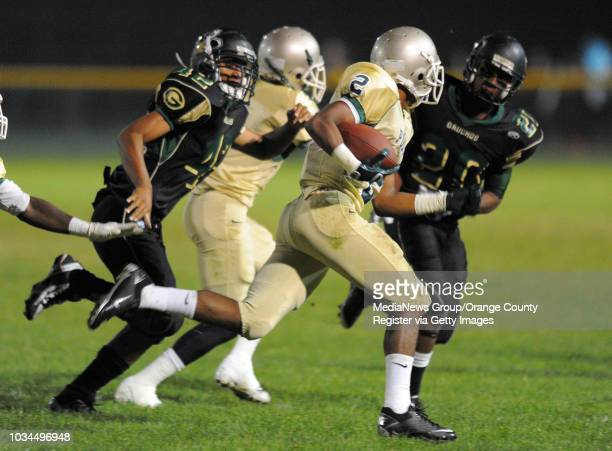 CITY 09/17/10 Narbonne vs Long Beach Poly nonleague football 1st half Randall Goforth returns a kickoff for a 75yard TD in the 2nd qtr