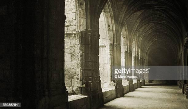 narbonne's cathedral cloister - marc mateos fotografías e imágenes de stock