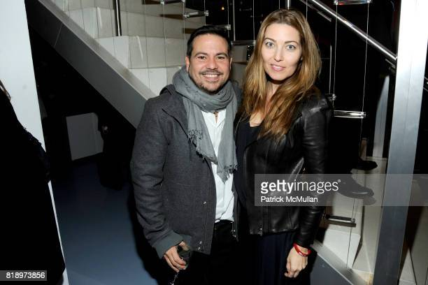 Narciso Rodriguez and Alixe Boyer attend CFDA 2010 Nominee Honoree Announcement Party Hosted by NADJA SWAROVSKI and DIANE VON FURSTENBERG at DVF...
