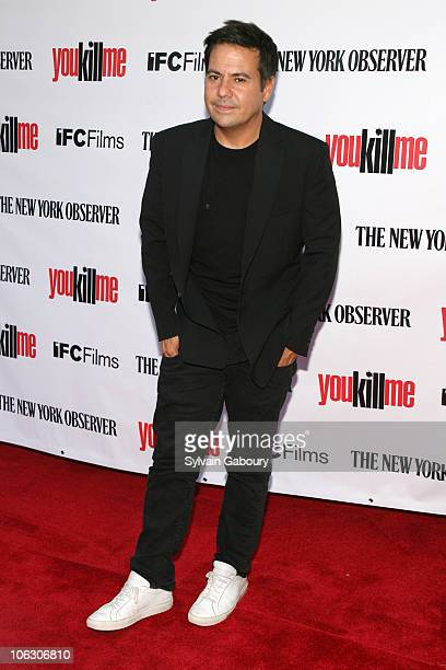 Narciso Rodriguez during You Kill Me New York City Premiere Arrivals at IFC Center at 323 Sixth Avenue in New York City New York United States
