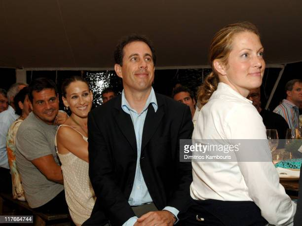 Narciso Rodriguez Sarah Jessica Parker Jerry Seinfeld and Alexandra Wentworth