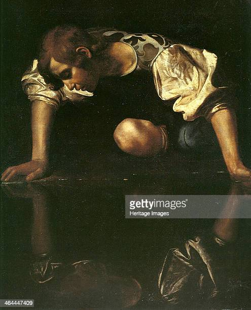 Narcissus 15981599 Found in the collection of the Palazzo Barberini Rome