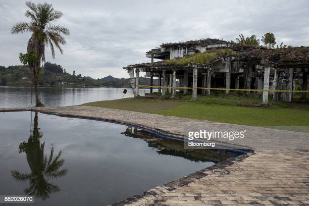 Narcotics kingpinPablo Escobar's lakeside villa ManuelaRanch stands abandoned in Medellin Colombia on Wednesday Oct 4 2017 Today the ManuelaRanch...