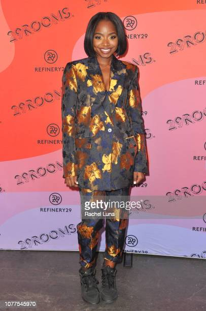 Nareasha Willis attends Refinery29's 29Rooms Los Angeles 2018 Expand Your Reality at The Reef on December 04 2018 in Los Angeles California