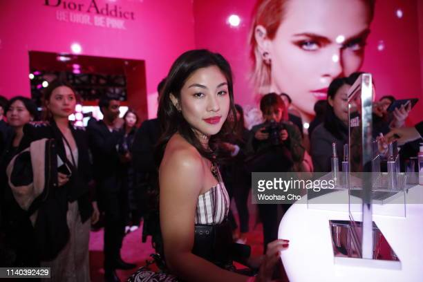 Narelle Kheng attends Dior Addict Stellar Shine launch at Layers 57 on April 04 2019 in Seoul South Korea