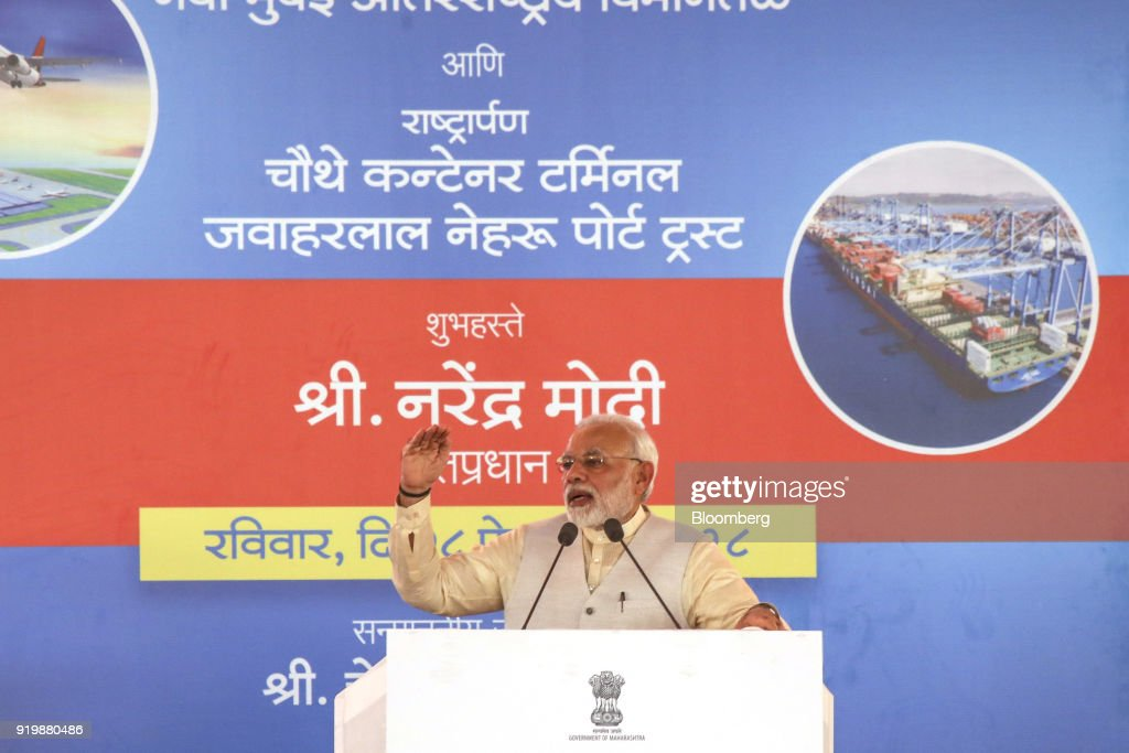 Prime Minister Narendra Modi Launches Construction of Navi Mumbai International Airport