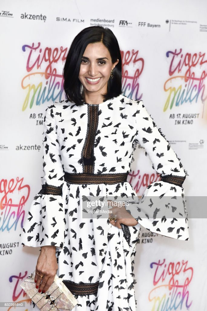Narges Rashidi attends the 'Tigermilch' Premiere at Kino in der Kulturbrauerei on August 15, 2017 in Berlin, Germany.