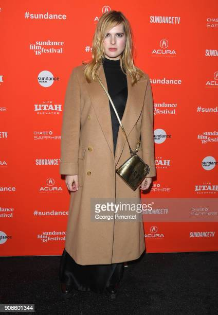 Nari Nef attends the 'Assassination Nation' Premiere during the 2018 Sundance Film Festival at Park City Library on January 21 2018 in Park City Utah