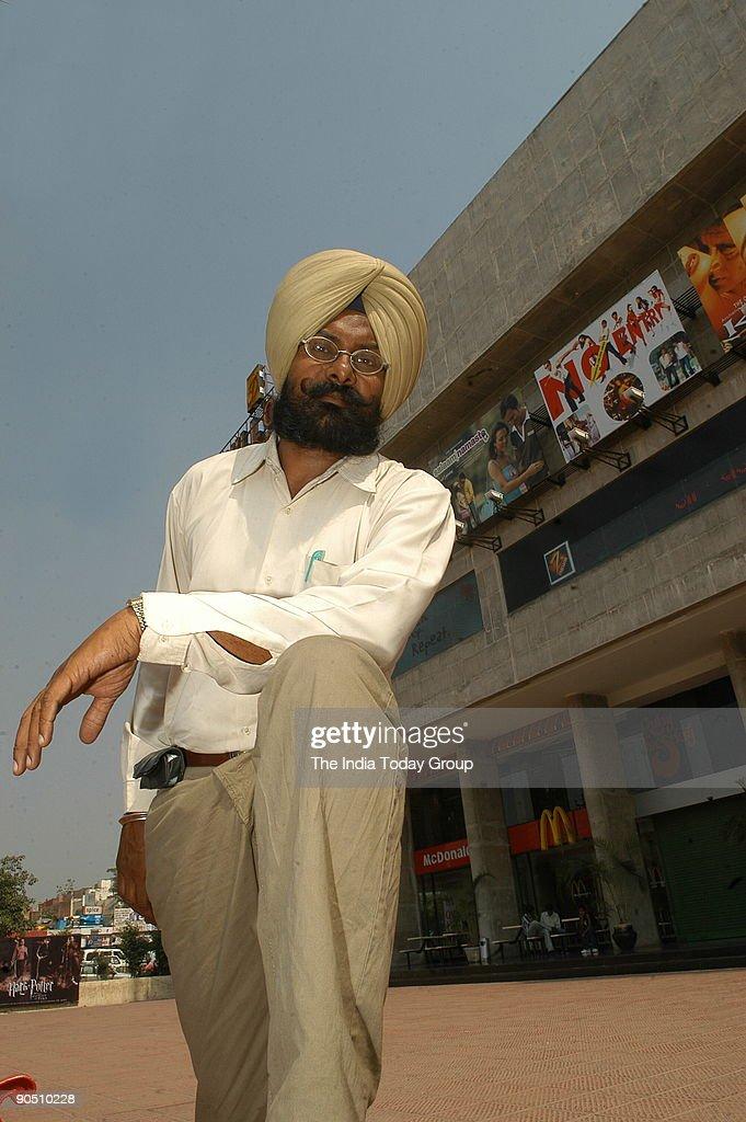 Narinder Singh a bitpart actor from Chandigarh