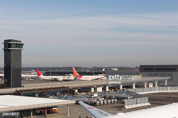 narita airport in japan - narita international airport stock photos and pictures