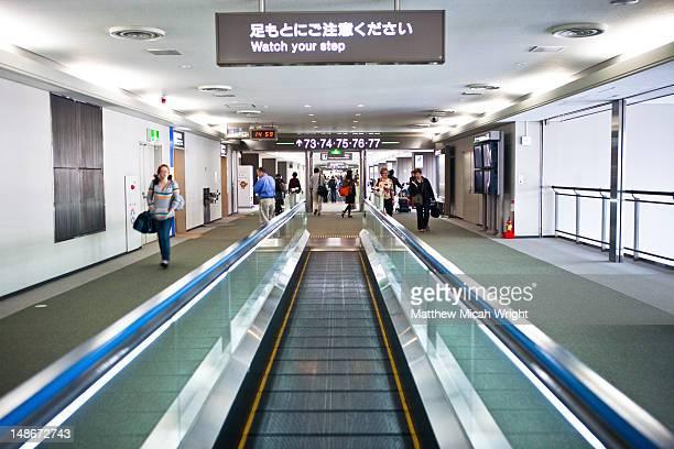 Narita Airport.