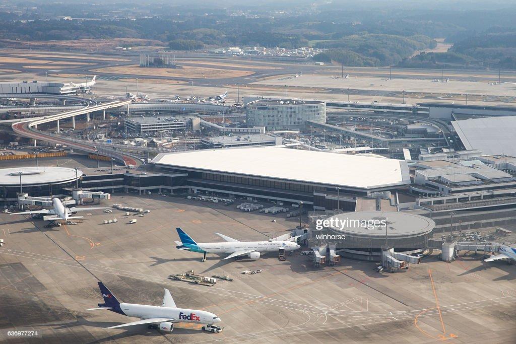 Narita International Airport in Japan : Stock Photo