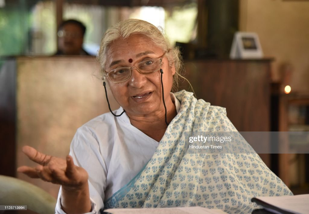 IND: Press Conference Of Medha Patkar