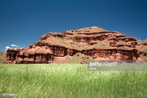 narman canyon - rock hoodoo stock pictures, royalty-free photos & images