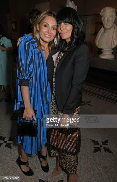 Narmina Marandi and Claudia Winkleman attend the Summer Party at the VA in partnership with Harrods at the Victoria and Albert Museum on June 20 2018...