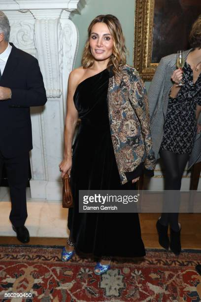 Narmina Marandi attends Giampiero Bodino's 'Beauty Is My Favourite Colour' cocktails and dinner evening at Spencer House on October 11 2017 in London...