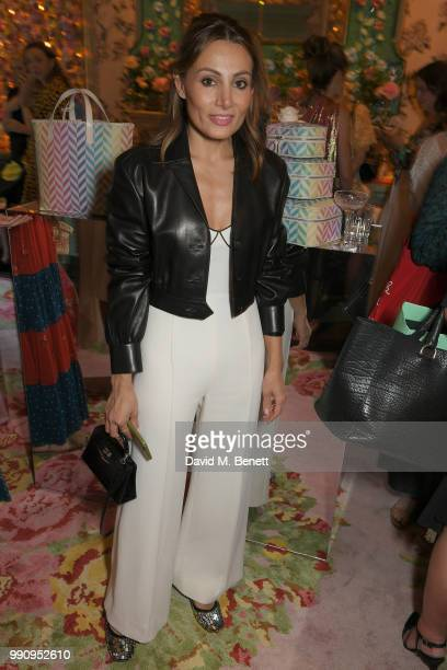 Narmina Marandi attends the Mrs Alice x Misela launch event at Annabel's on July 3 2018 in London England