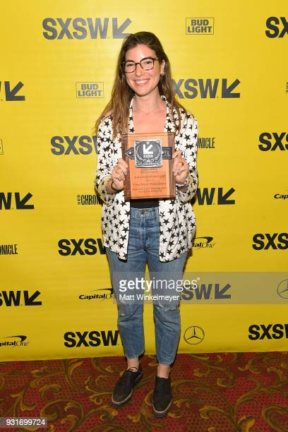 Narrative Feature Award winner for The New Romantic Carly Stone attends the SXSW Film Awards Show 2018 SXSW Conference and Festivals at Paramount...