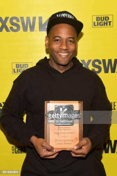 Narrative Shorts Award winner for Emergency Carey Williams attends the SXSW Film Awards Show 2018 SXSW Conference and Festivals at Paramount Theatre...