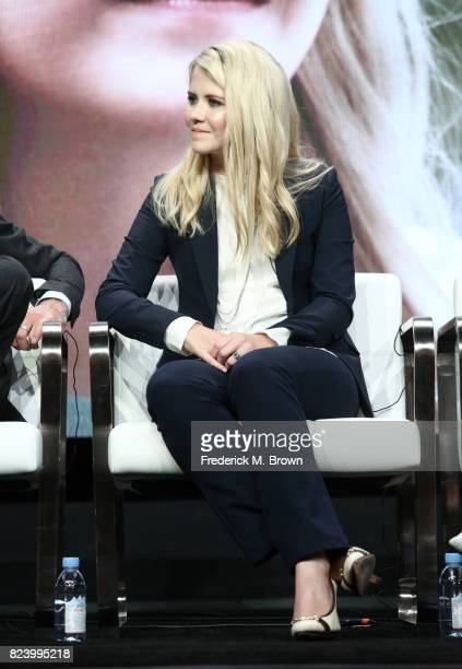 Narrator/producer Elizabeth Smart of 'I Am Elizabeth Smart' speaks onstage during the Lifetime and A+E portion of the 2017 Summer Television Critics...