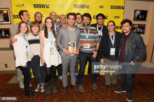 Narritive Feature Award winner for Thunder Road Jim Cummings and cast and crew of Thunder Road attend the SXSW Film Awards Show 2018 SXSW Conference...