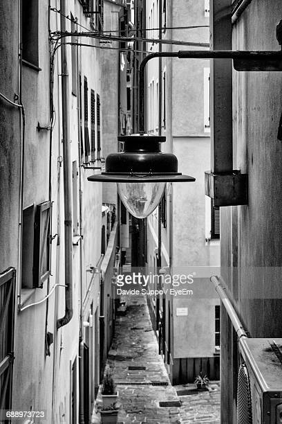 narrow alley in city - old town stock pictures, royalty-free photos & images