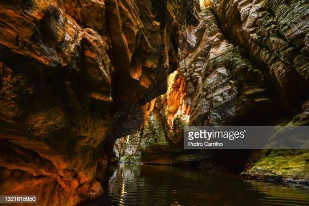 walls narrow cânion do funil canyon
