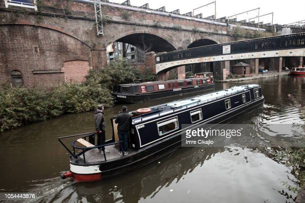 Narrow boat tour, Manchester
