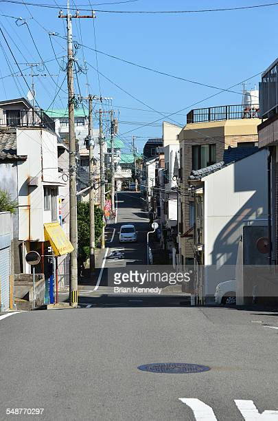 Narrow Nagasaki street