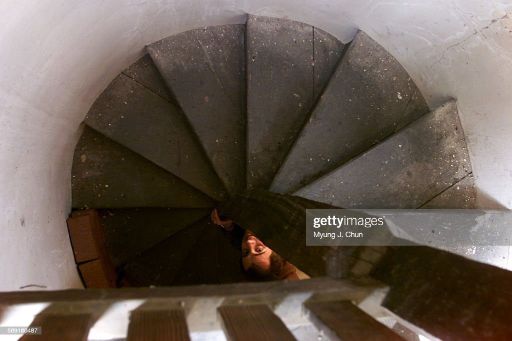 A Narrow, Spiral Staircase Leads To The Top Of The Turret At Sheau0027s Castle  In