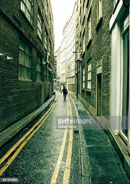 narrow  street in East London