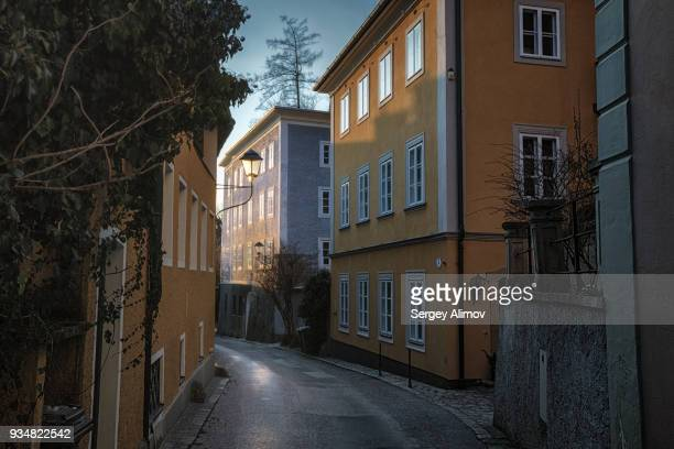 Narrow street in Salzburg