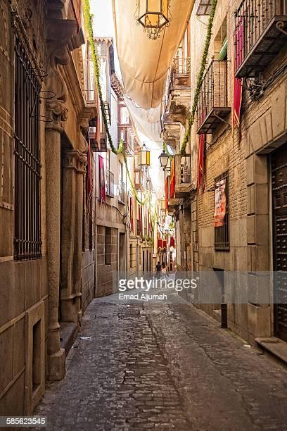 Narrow Street in Toledo Spain